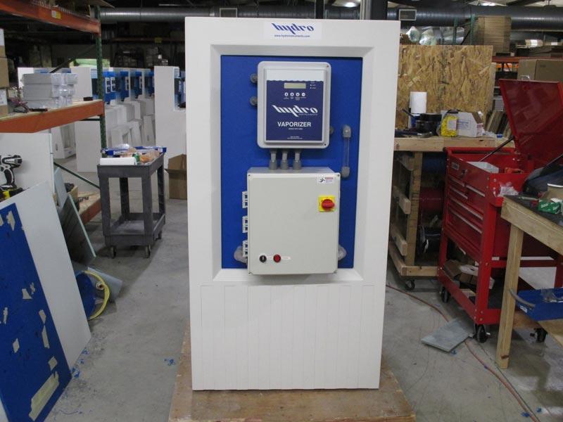 Evaporator (Vaporizer) System Without Circulation Pump