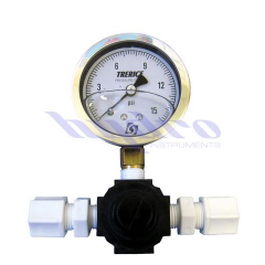 PRV and Pressure Gauge Assembly